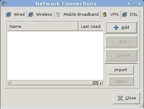 Networkmanager mit Cisco VPN unter Xfce und Archlinux einrichten