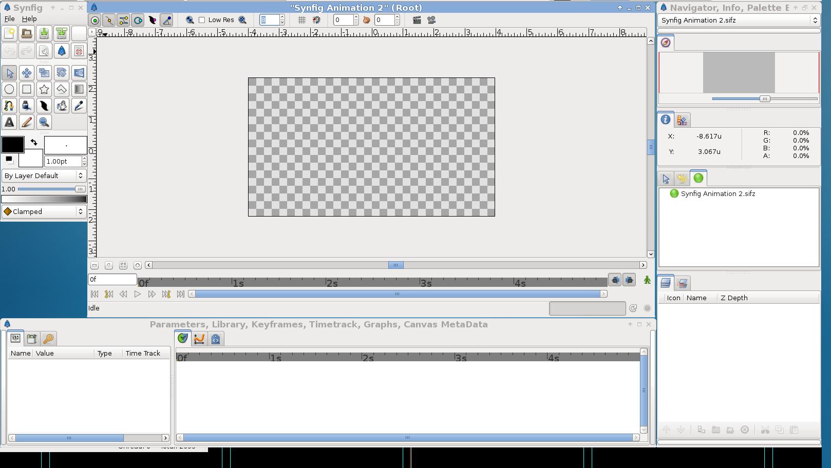 Animationen unter linux erstellen mit synfig