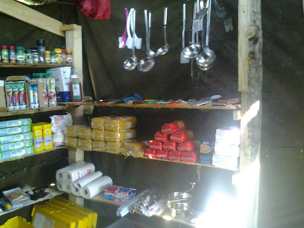 Küchenlager ist eingerichtet – ascii_ch