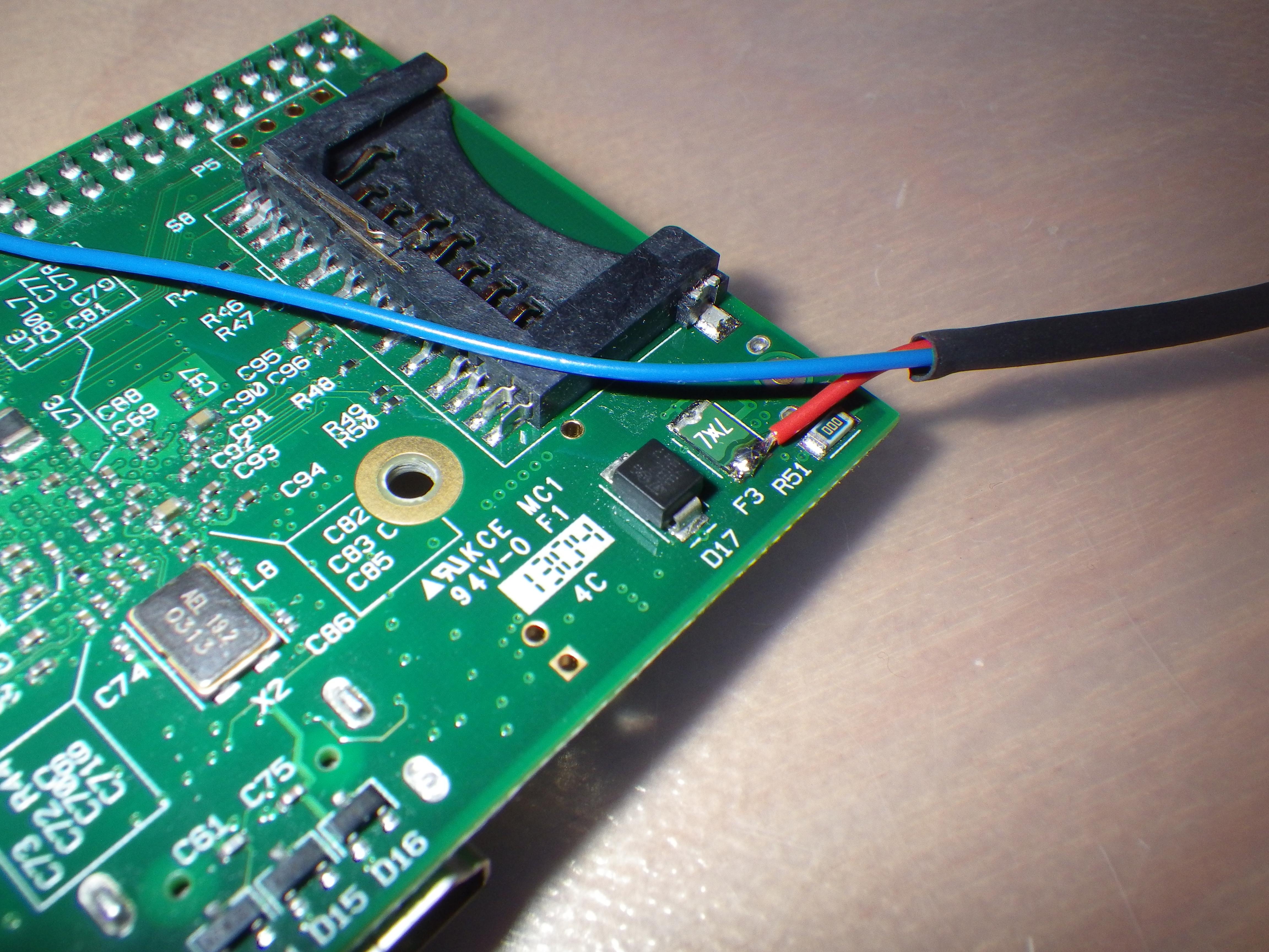 Raspberry-Pi Stromversorgung über angelötete Kabel – ascii_ch